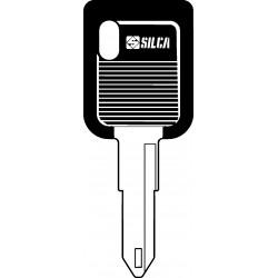 NE72DP CHIAVE AUTO TESTA PLASTICA