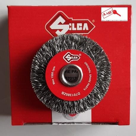 SPAZZOLA DIAMETRO 55 ACCIAIO COD D701380ZB