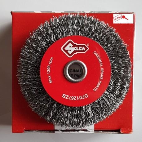 SPAZZOLA DIAMETRO 80 ACCIAIO COD D701267ZB