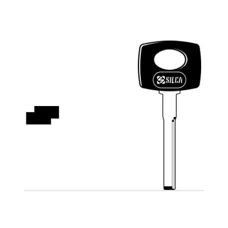 HU61P CHIAVE AUTO TESTA PLASTICA