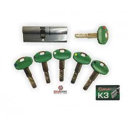 SECUREMME CILINDRO K3 40-40 ART 3300CCS4040