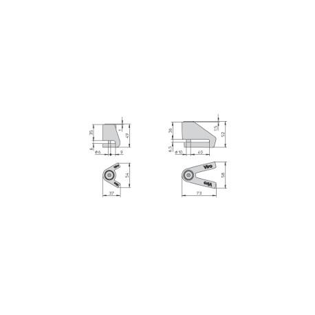 VIRO BLOCCA DISCO NEW STOPPER MM 10 ART 137